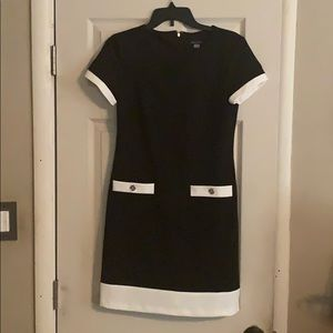 TH black and white dress!